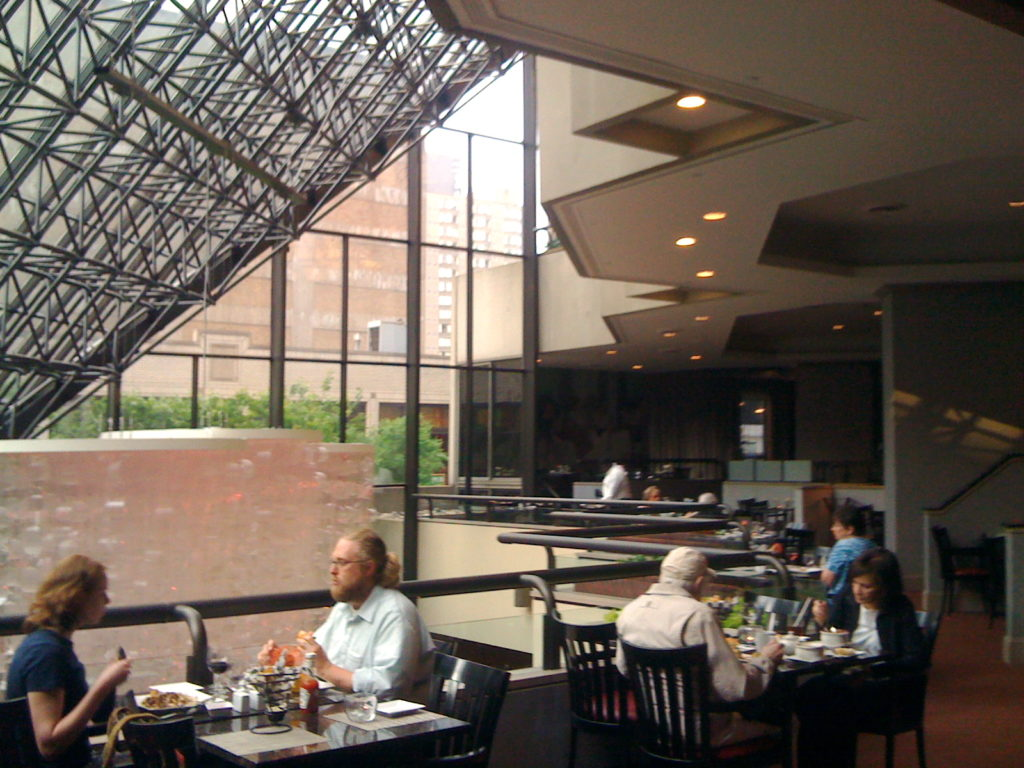 Doubletree opens the balcony hotel restaurant with a view for Balcony restaurant