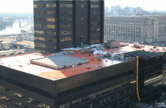 Tour The Green Roof At The Peco Building Ocf Realty