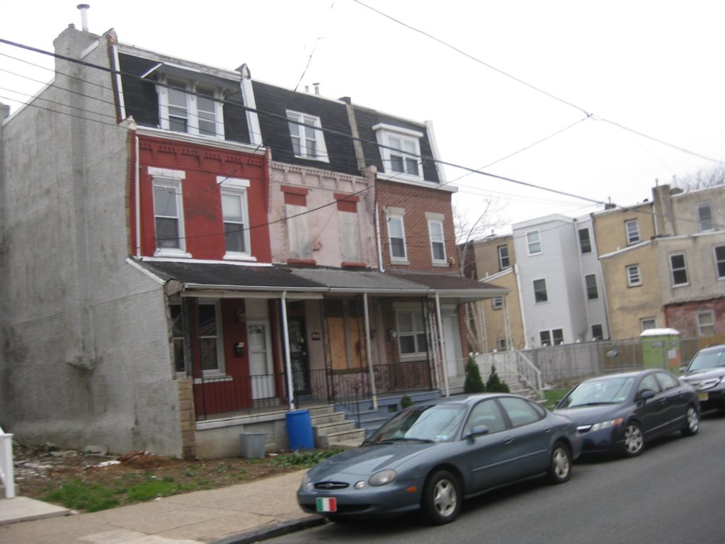 3400 block of wallace street will soon be a construction for Wallace homes