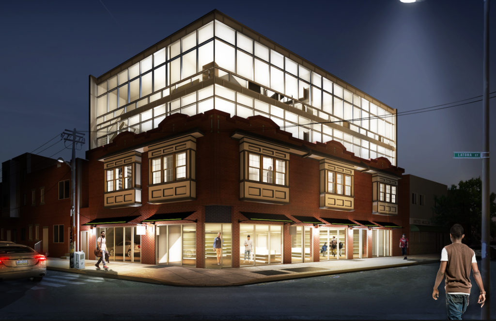 Big Glass Box Descending on Point Breeze Avenue - OCF Realty